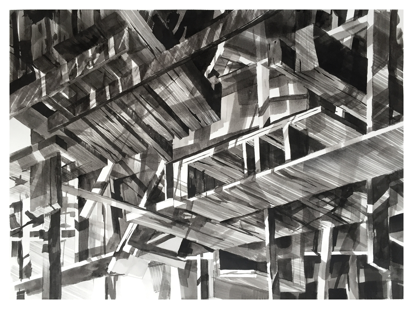 Image of Abstract Architectural Art by Scott Tulay