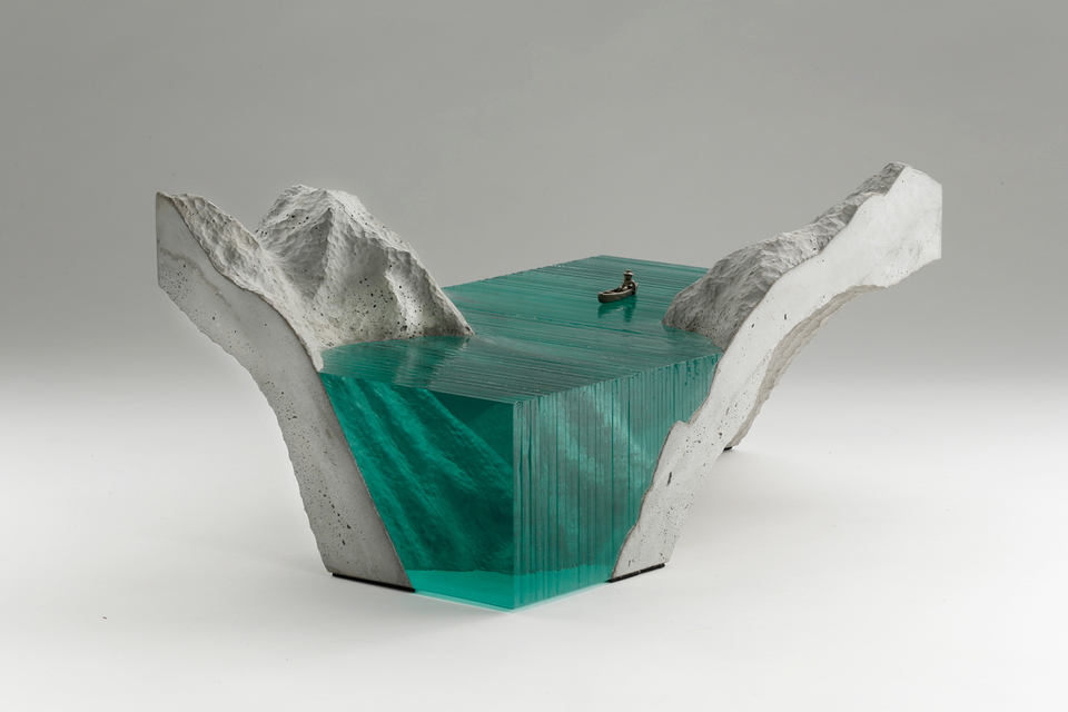 Ben Young Marine Glass Sculpture
