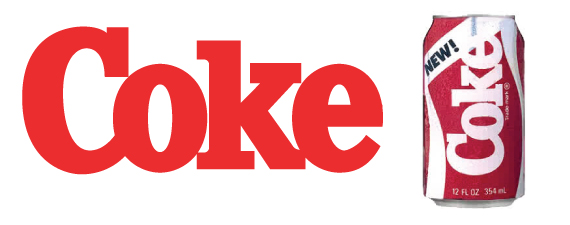 Logo de Coca Cola 1985