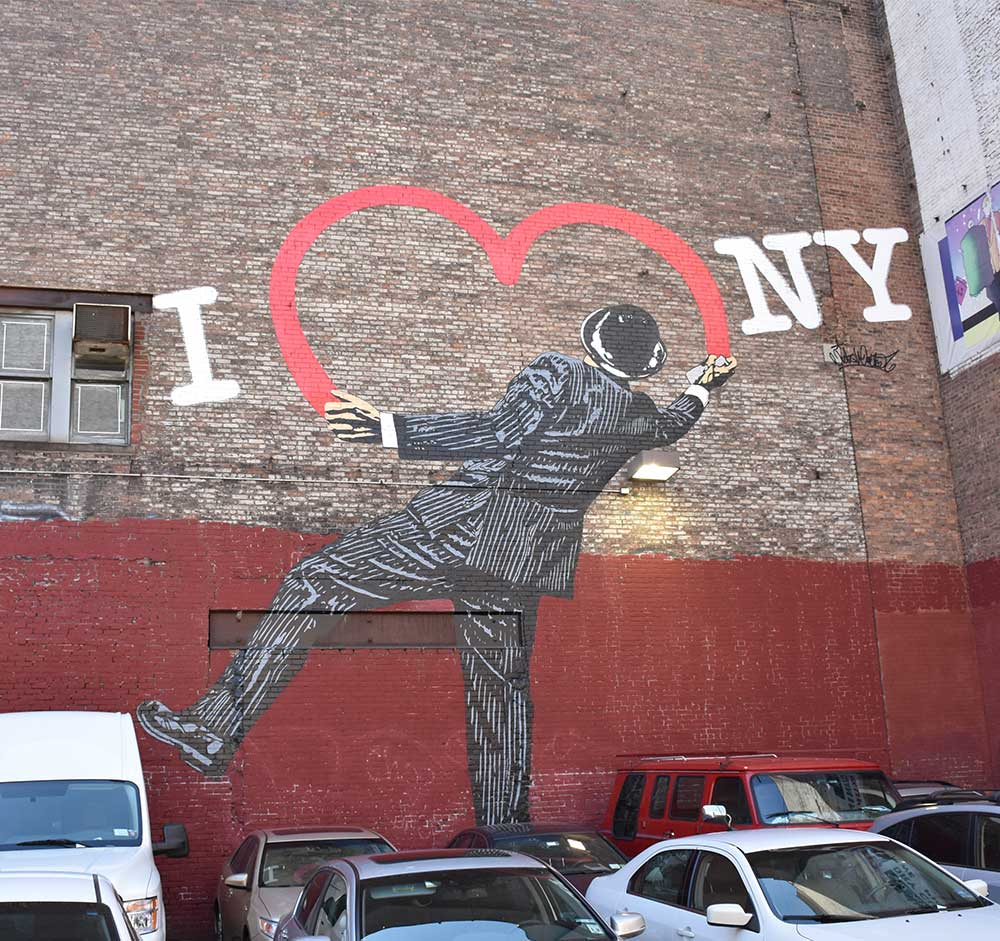 Love Vandal - Street Art by Nick Walker