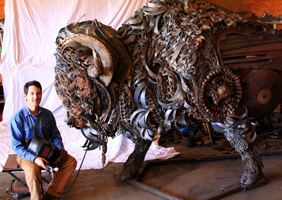 John Lopez Welded Sculptures