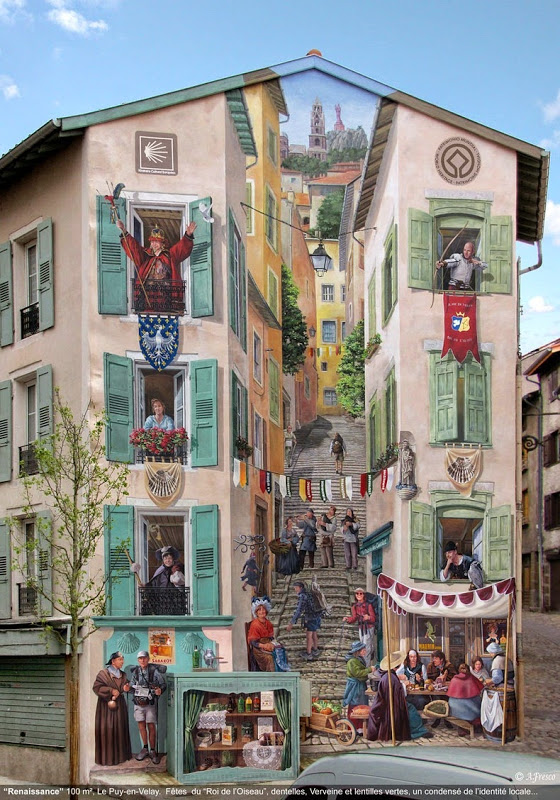 Mural by Patrick Commecy