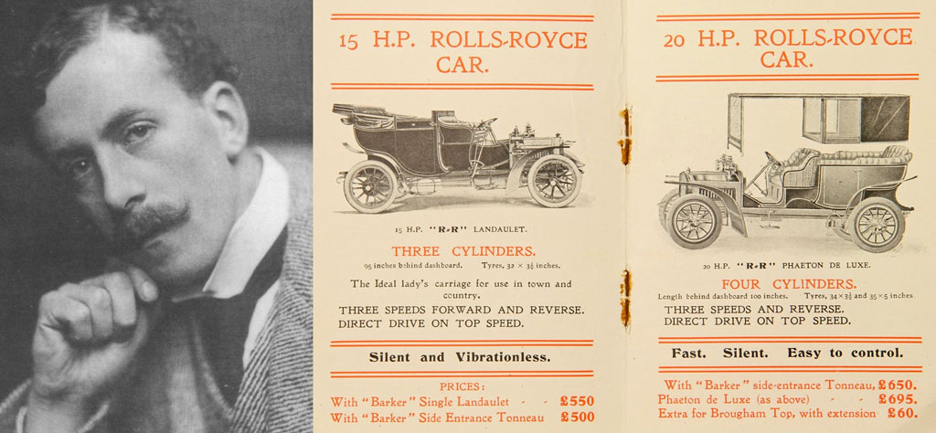History of the Rolls Royce Logo