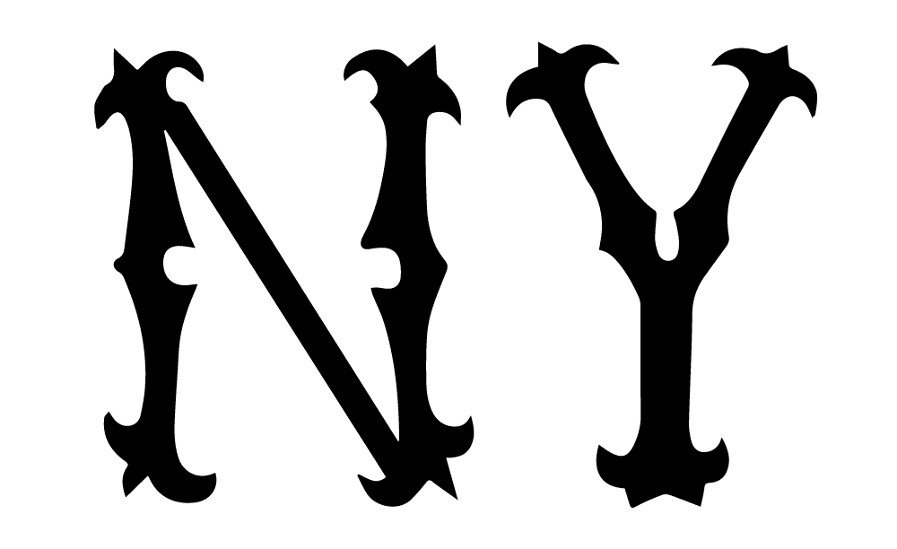 1903-1904 New York Highlanders (Yankees) Logo