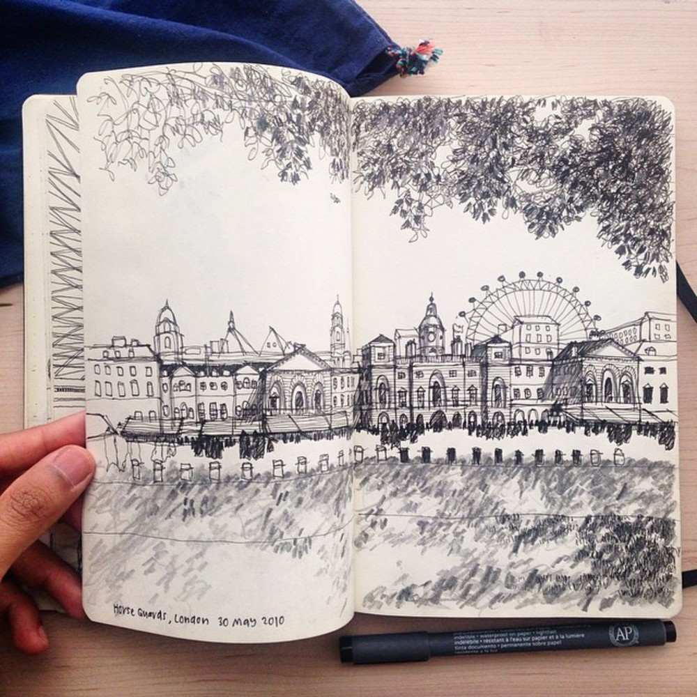 Architectural_Sketch_by_TendToTravel