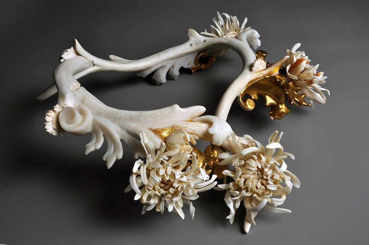 Jennifer Trask Bone Sculpture
