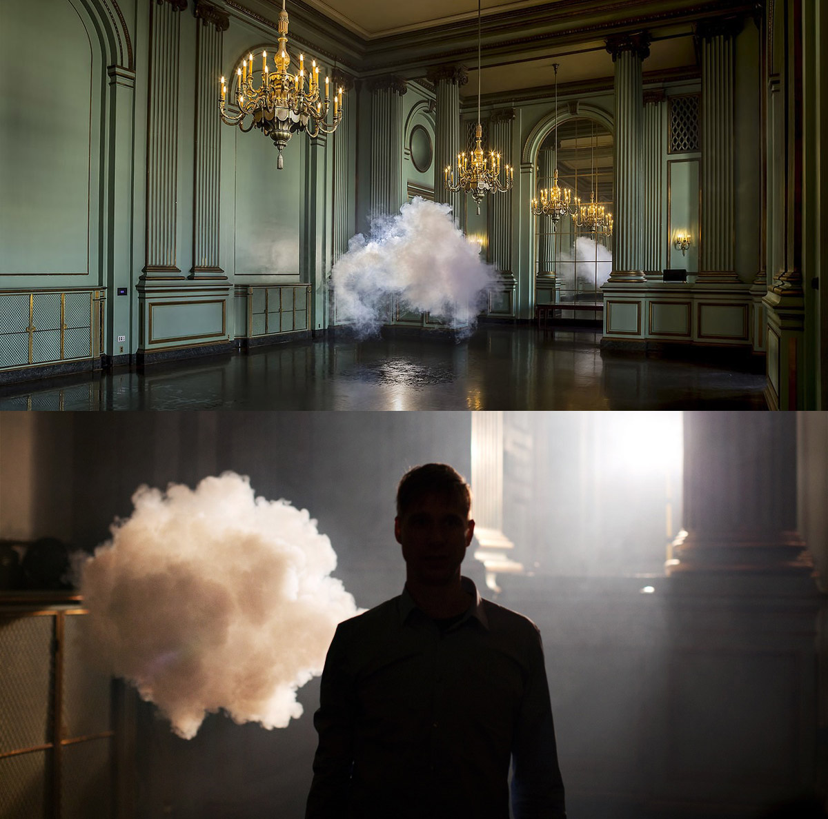 Cloud Installation Art by Berndnaut Smilde