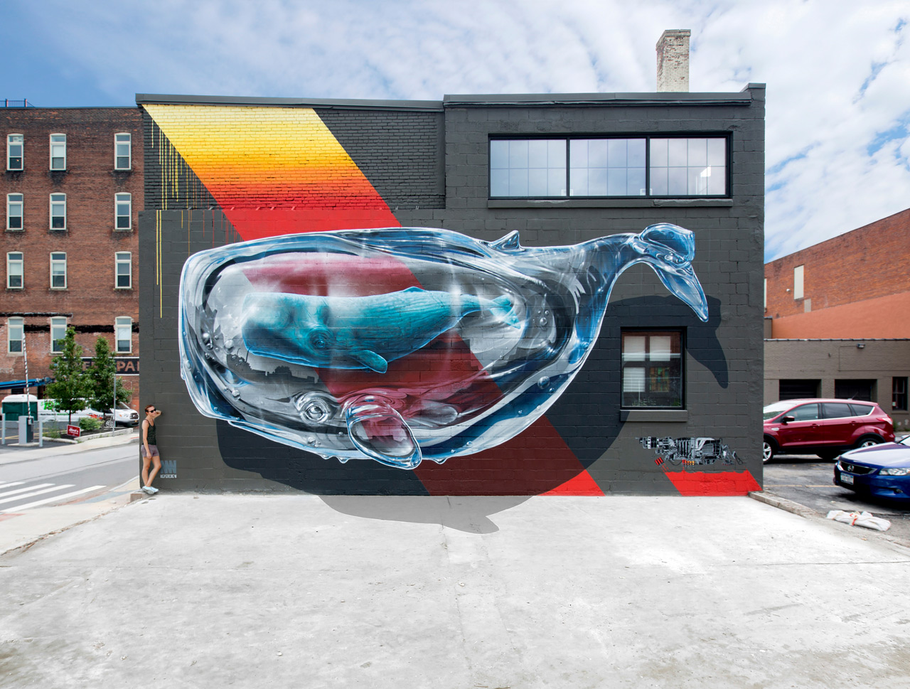 Image of Creative Wall Paintings by NEVERCREW