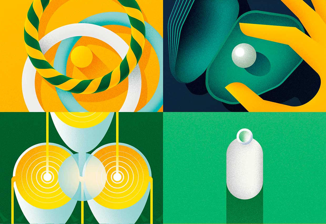 Image of Geometric Illustrations by Jack Daly