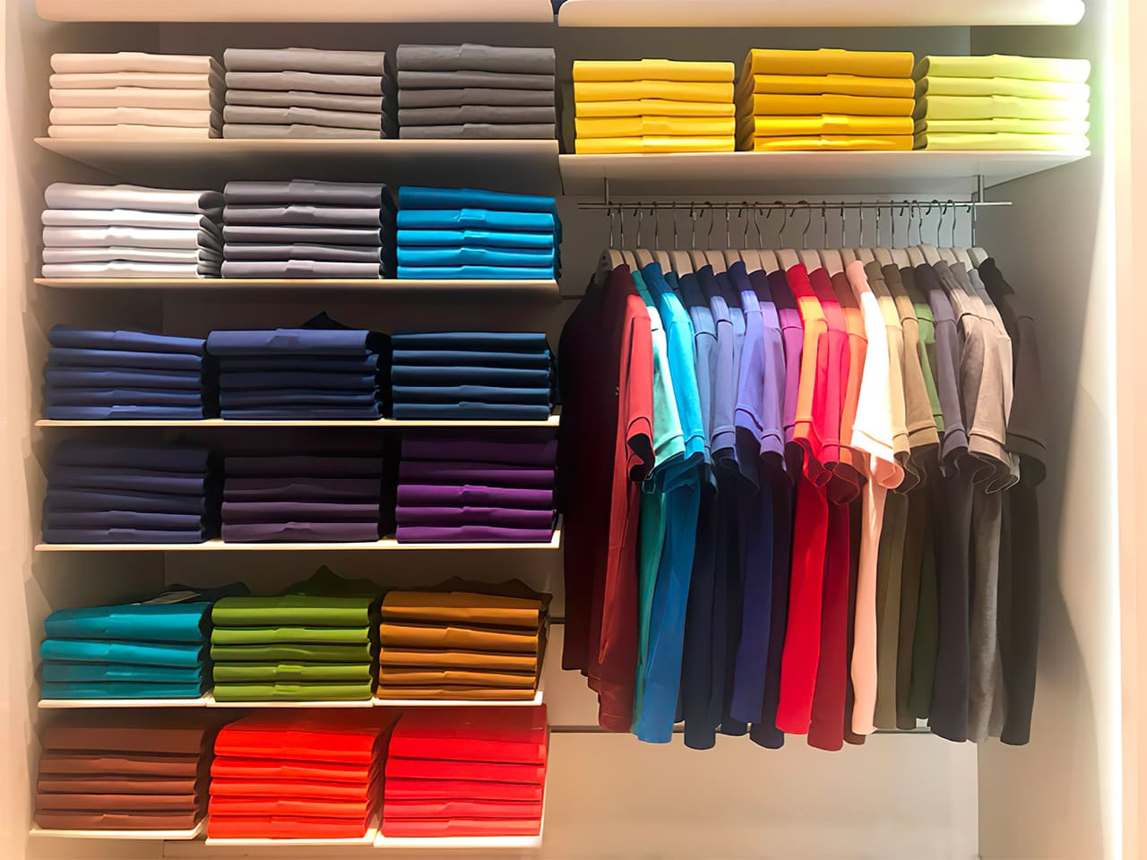Ralph Lauren Polo shirts in 24 colors