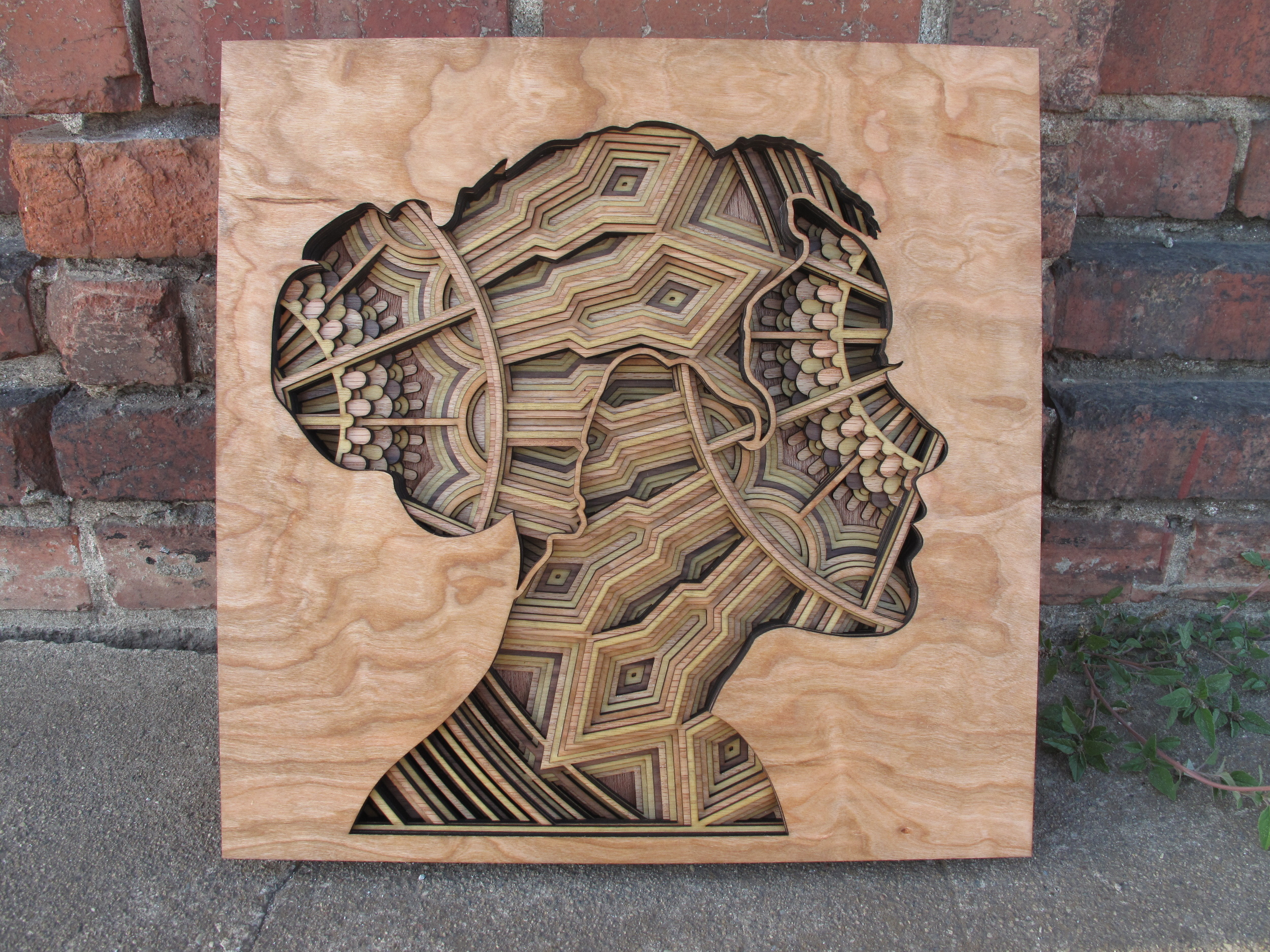 Image of Laser Cut Wood Sculptures by Gabriel Schama