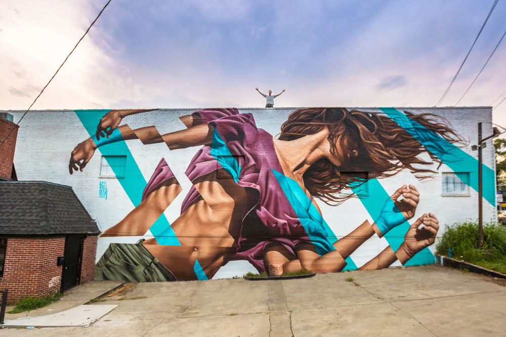 Image of Photorealistic Murals by James Bullough
