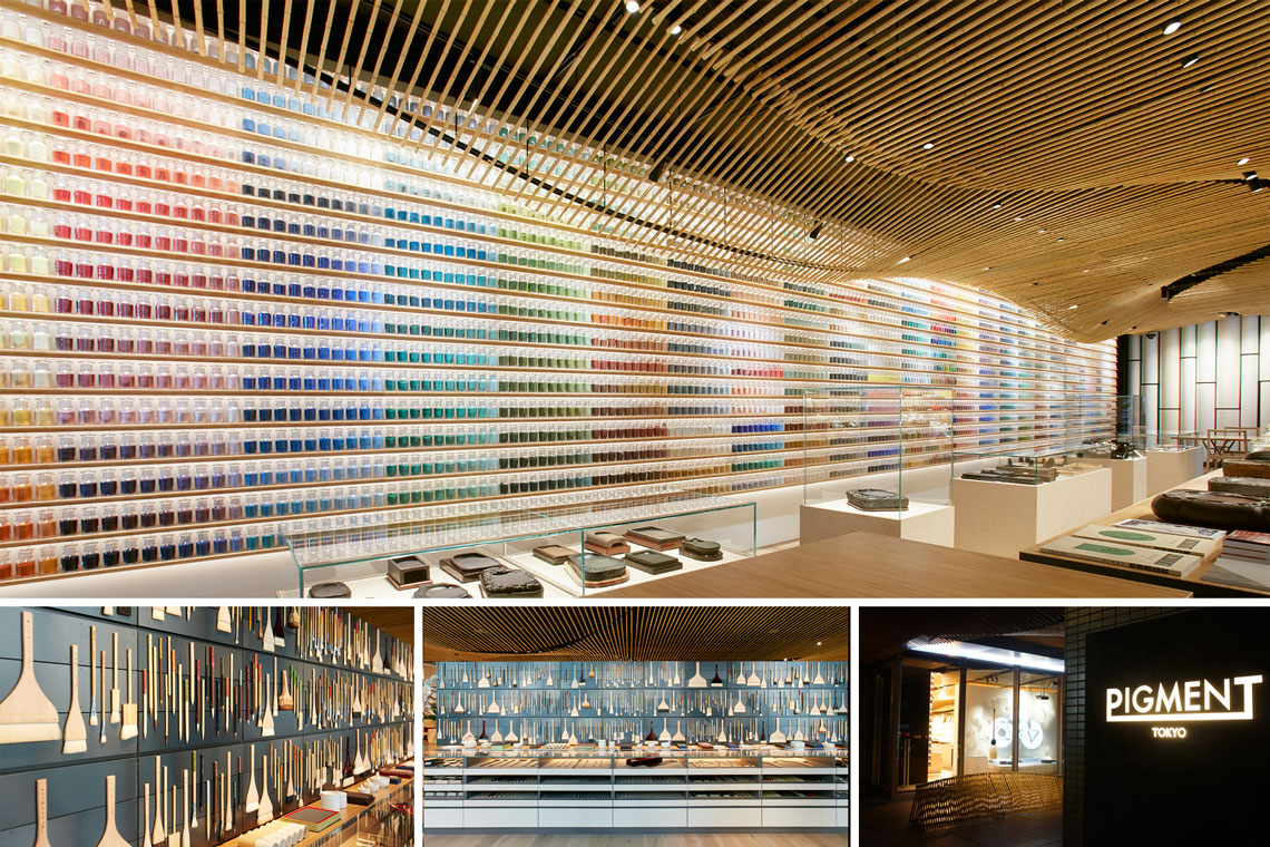 PIGMENT: Stunning Art Supply Shop in Japan by Terrada
