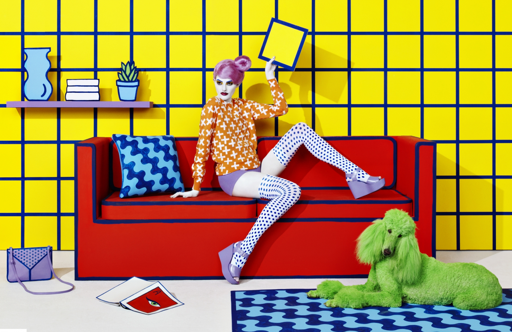 Sagmeister and Walsh Translate 2D Pop Art to 3D Reality