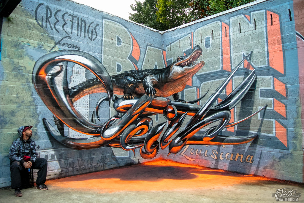 The Anamorphic Wall Murals of Sergio Odeith