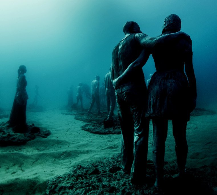 Jason deCaires Taylor Artwork #13