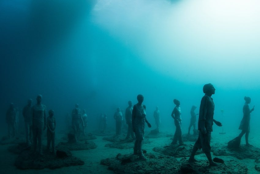 Jason deCaires Taylor Artwork #14