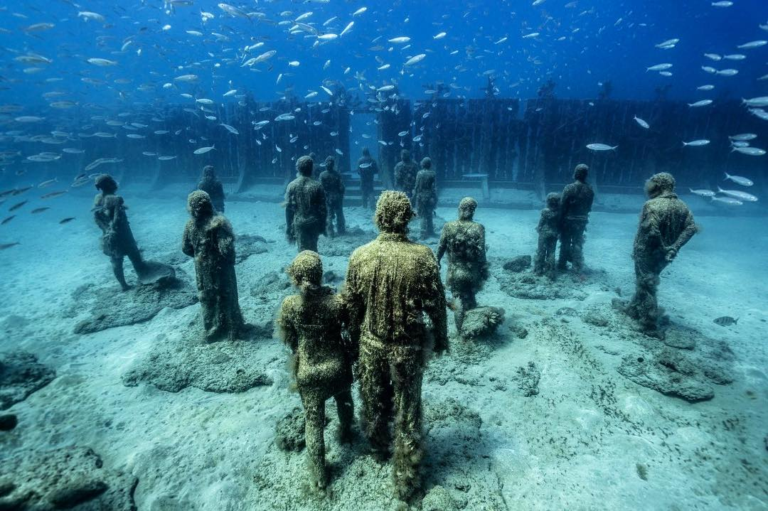 Jason deCaires Taylor Artwork #16