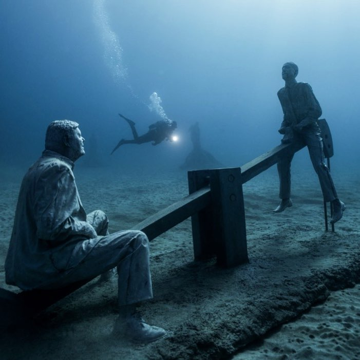 Jason deCaires Taylor Artwork #5