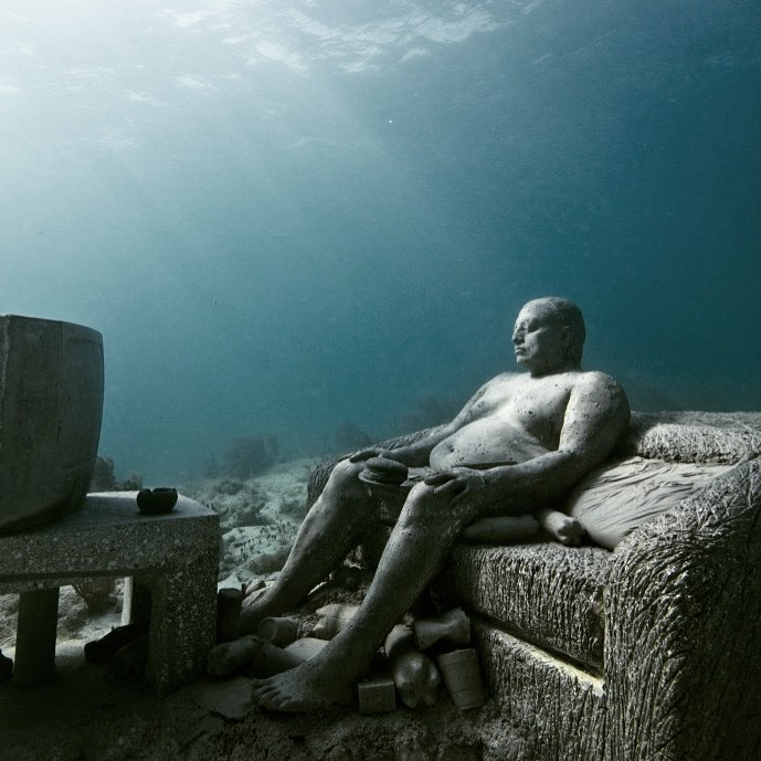 Jason deCaires Taylor Artwork #7