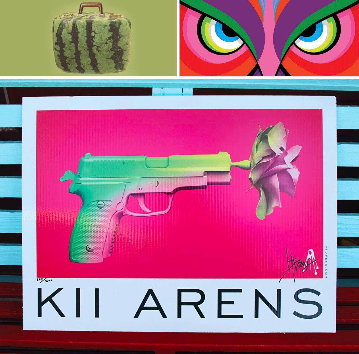 The Beautiful Poster & Album Art of Kii Arens