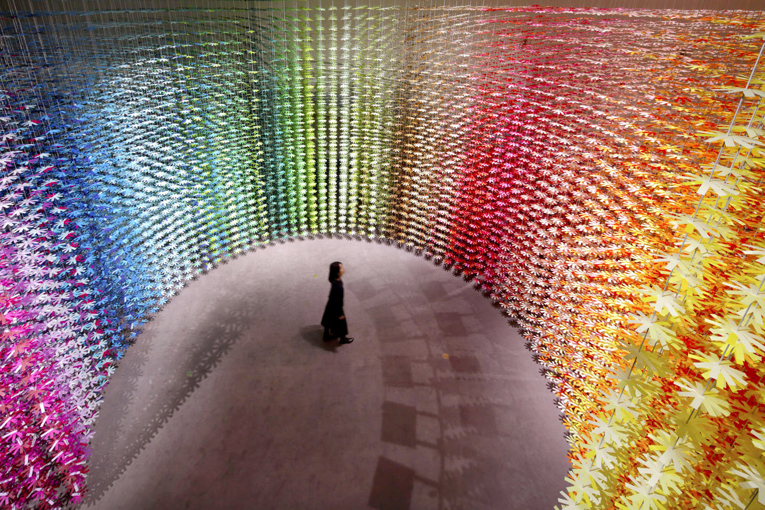 The Colorful Spaces of Emmanuelle Moureaux