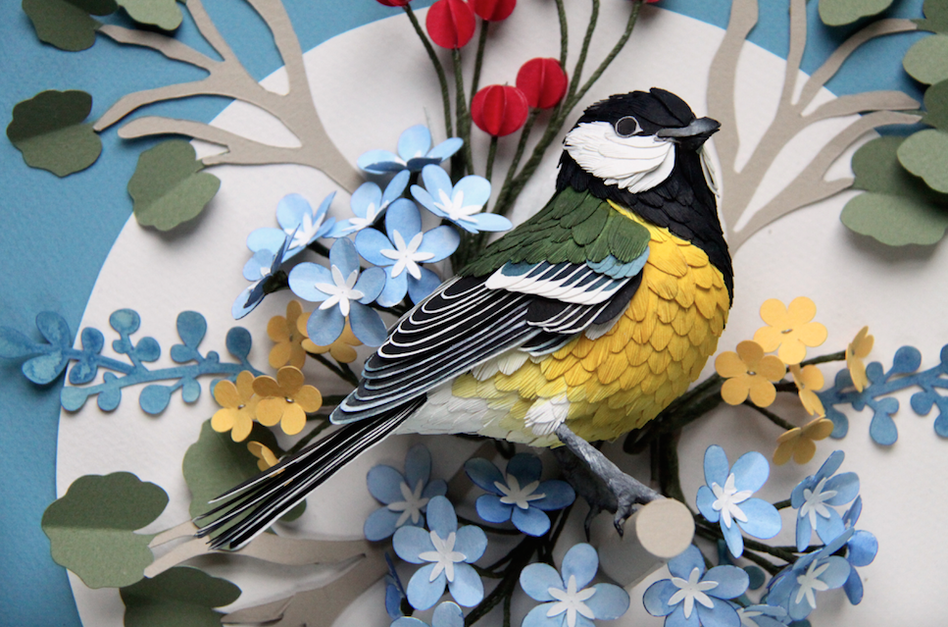 The Elaborate Paper Birds of Diana Beltran Herrera