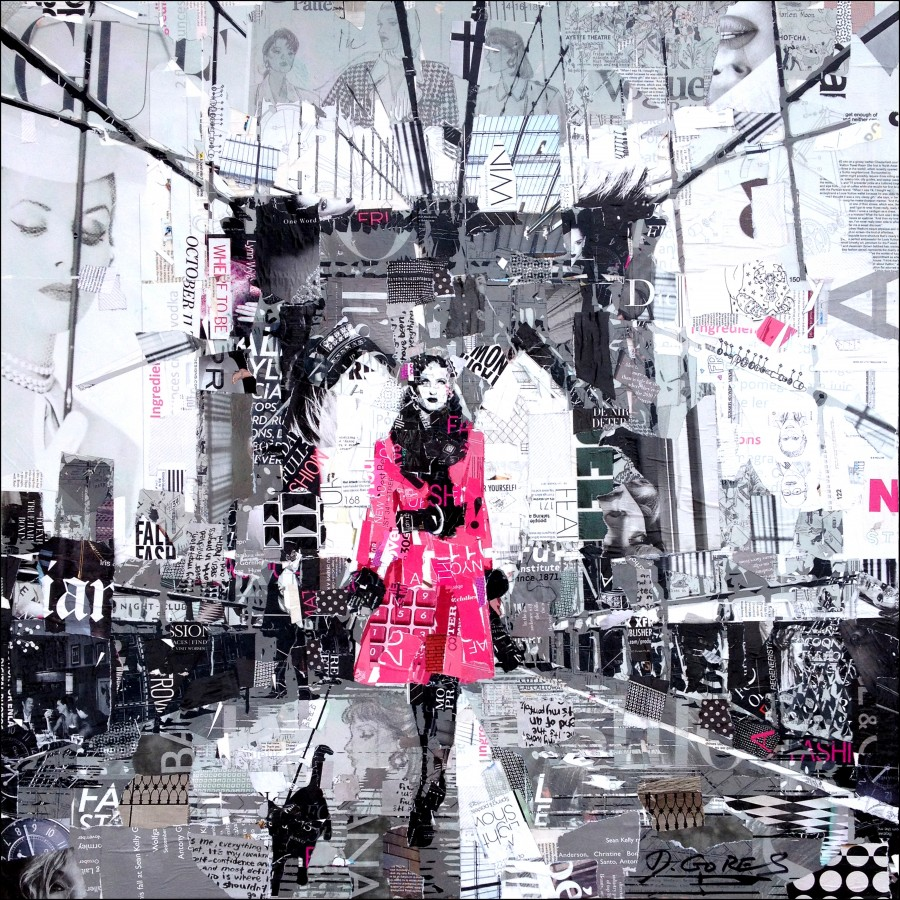 Image of The Fashionable Collage Art of Derek Gores