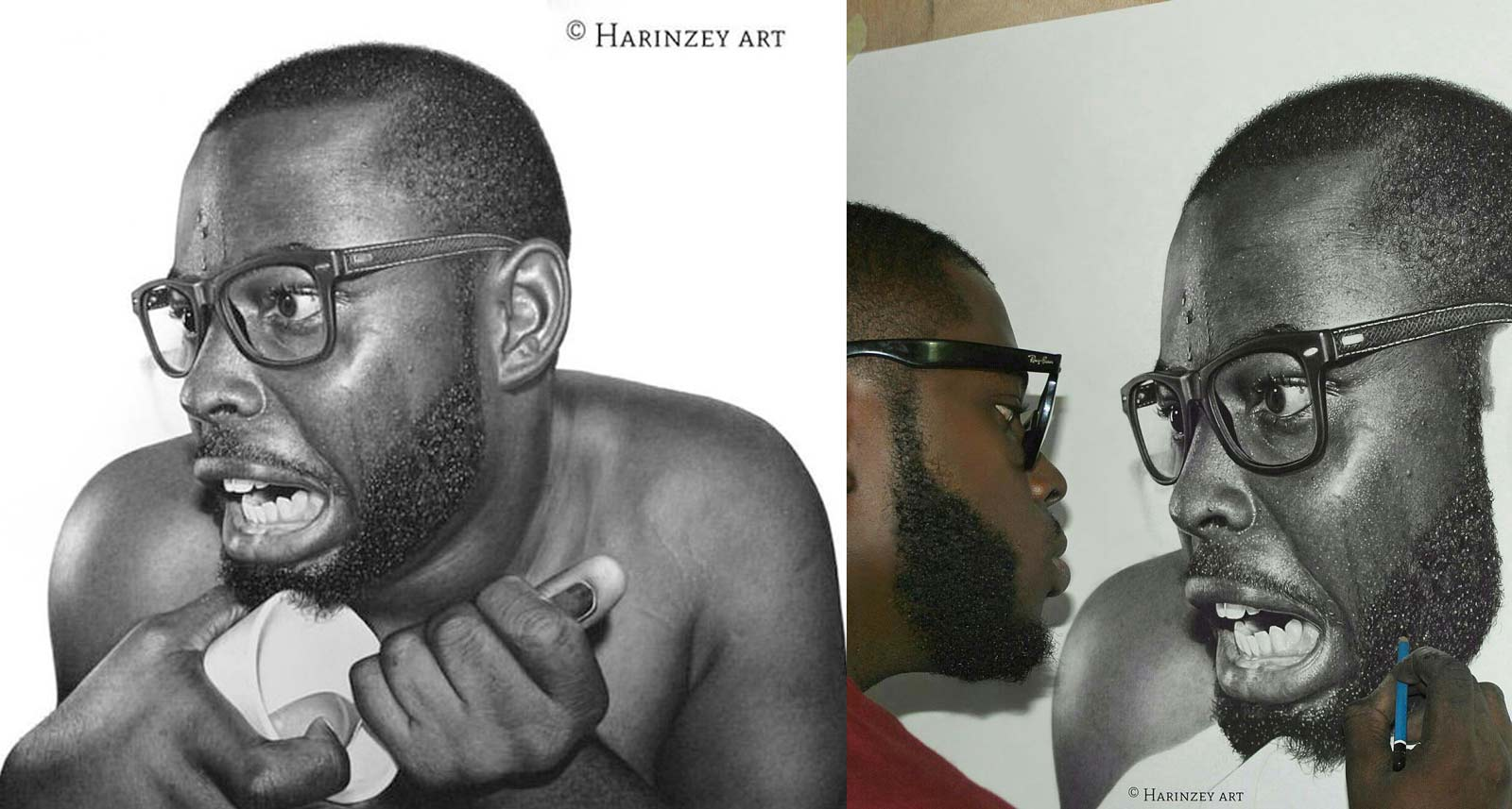 The Hyperrealism Portraits of Arinze Stanley