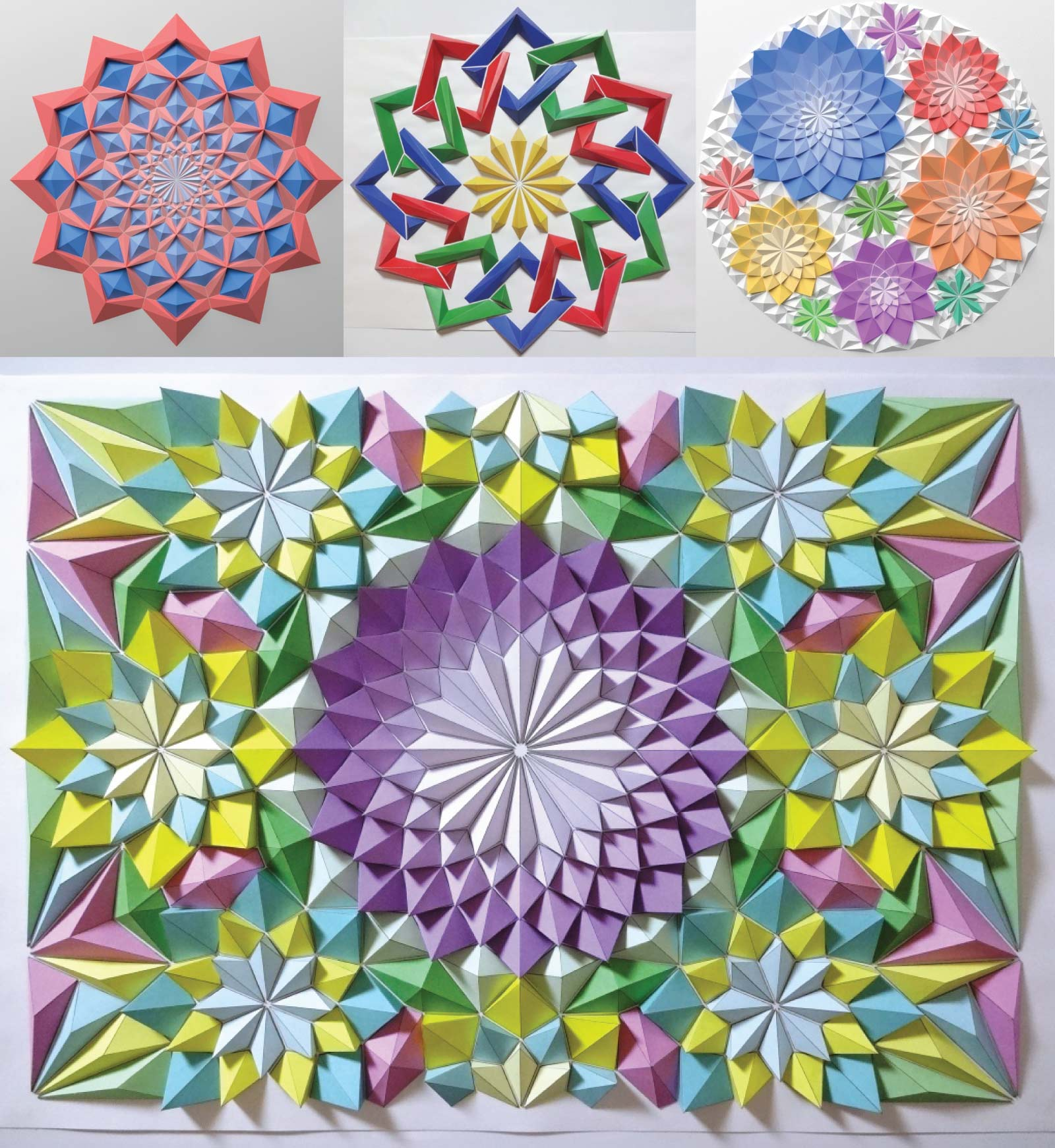 The Origami Mosaics of Kota Hiratsuka