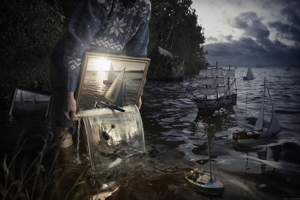 Image of The Photographic Dreamscapes of Erik Johansson
