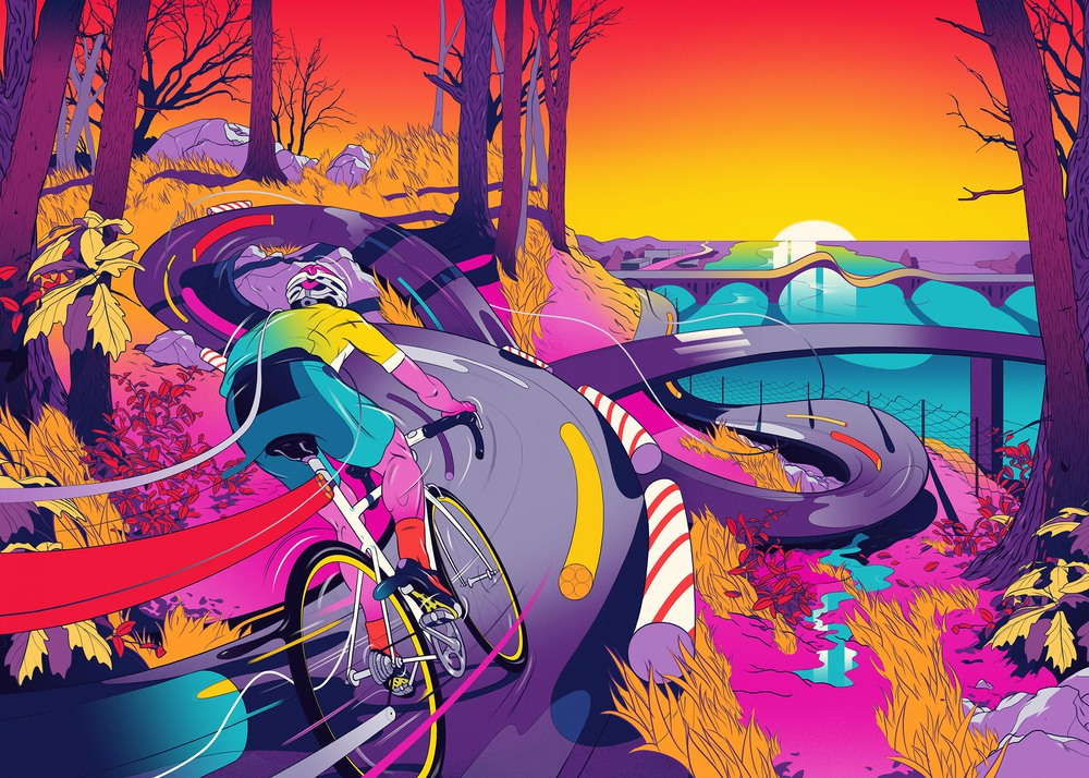 The Psychedelic Illustrations of Andrew Archer