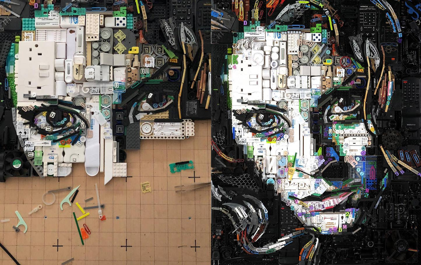 Image of The Recycled Portraits of Zac Freeman