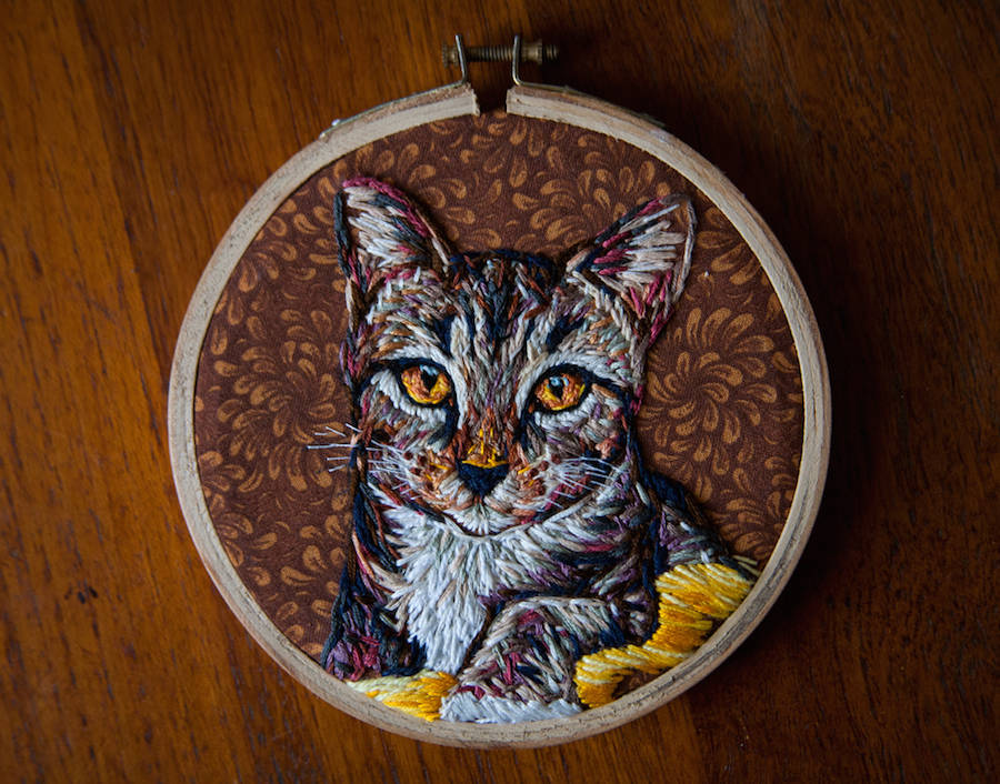 Image of The Stunning Embroidery of Danielle Clough