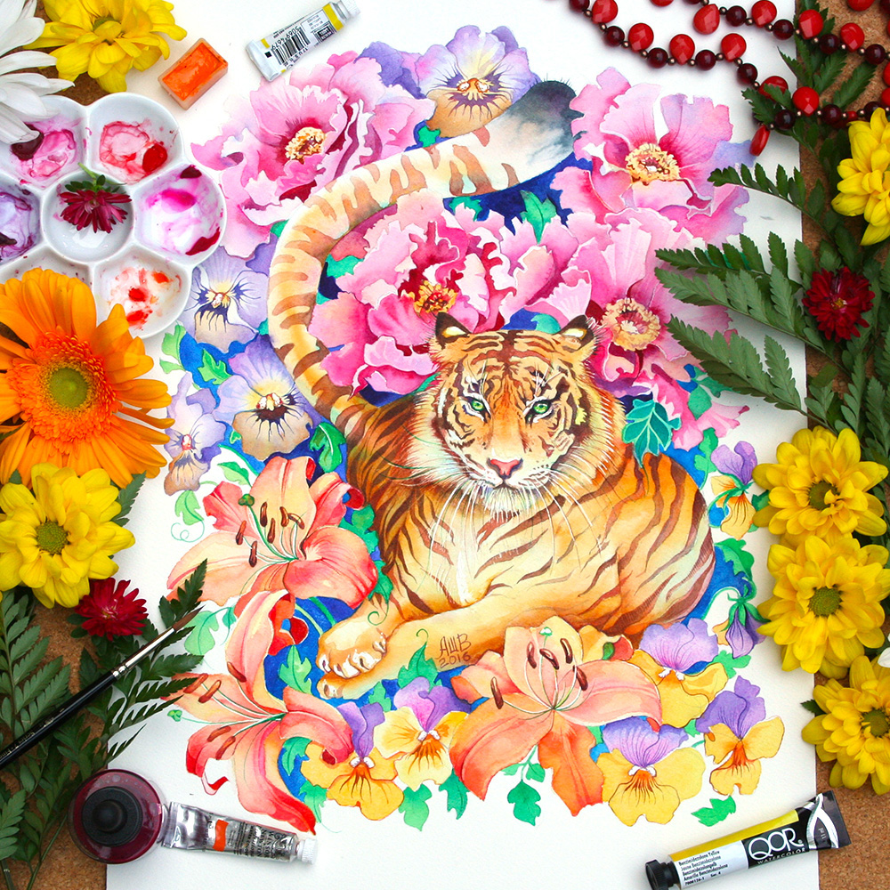 Image of The Vibrant Watercolors of Anna Bucciarelli