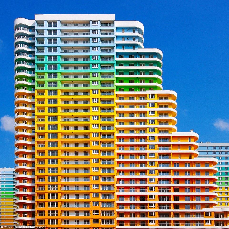 Image of Vibrant Buildings of Istanbul Shot by Yener Torun