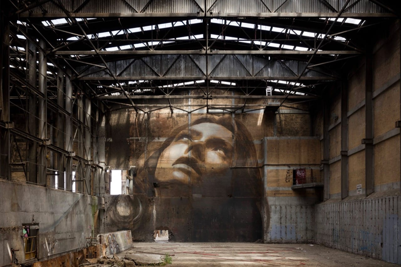 Wall Art & Portrait Collages by Rone